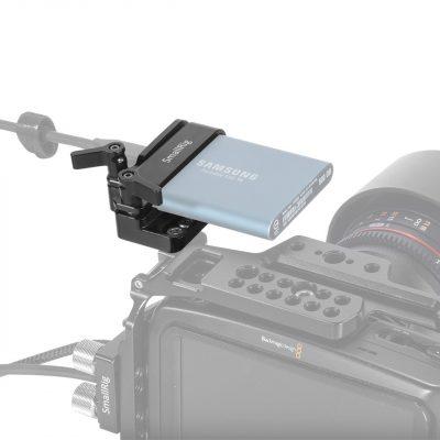 SmallRig BMPCC 4K專用 - Samsung T5 SSD固定器 (2245B)