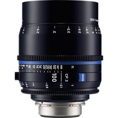 ZEISS 蔡司 CP.3 100mm T2.1 定焦電影鏡頭