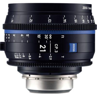 ZEISS 蔡司  CP.3 21mm T2.9定焦電影鏡頭