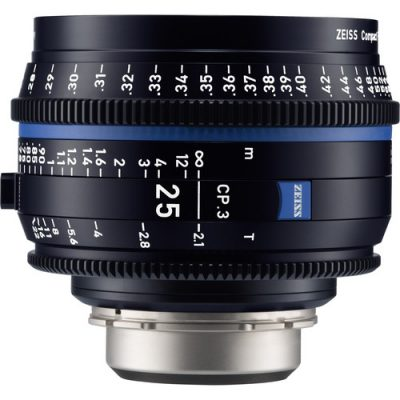 ZEISS 蔡司 CP.3 25mm T2.1 定焦電影鏡頭
