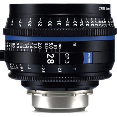 ZEISS 蔡司 CP.3 28mm T2.1 定焦電影鏡頭