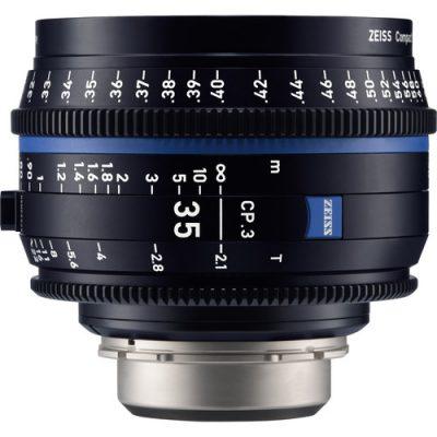 ZEISS 蔡司 CP.3 35mm T2.1 定焦電影鏡頭