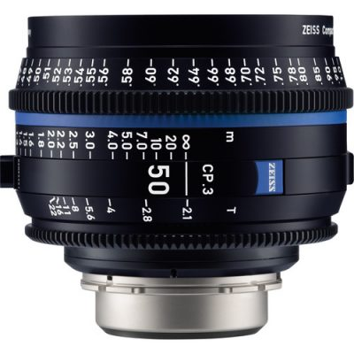 ZEISS 蔡司CP.3 50mm T2.1 定焦電影鏡頭