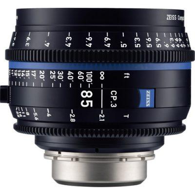 ZEISS 蔡司 CP.3 85mm T2.1 定焦電影鏡頭