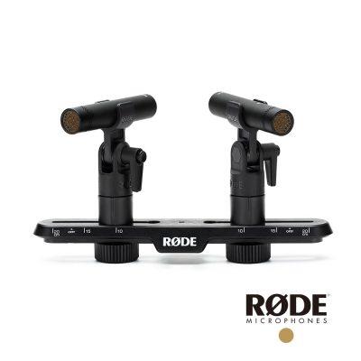 RODE TF-5 MP 配對組 心型電容麥克風 高音質 含可調式立體聲收音架